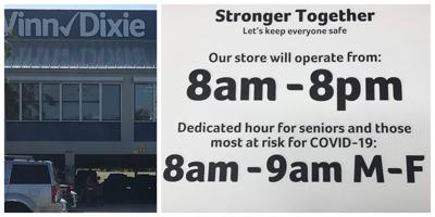 Winn Dixie now opens at 8 a.m. / first hours exclusive for seniors