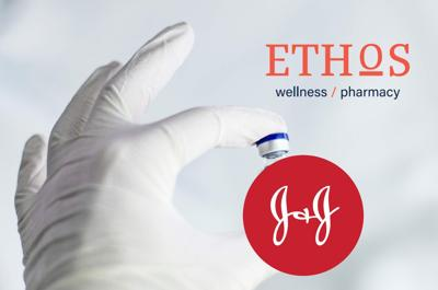 Appointments slots for the J & J One-Shot vaccine available at Ethos Pharmacy in Key Biscayne  starting at Noon Sunday