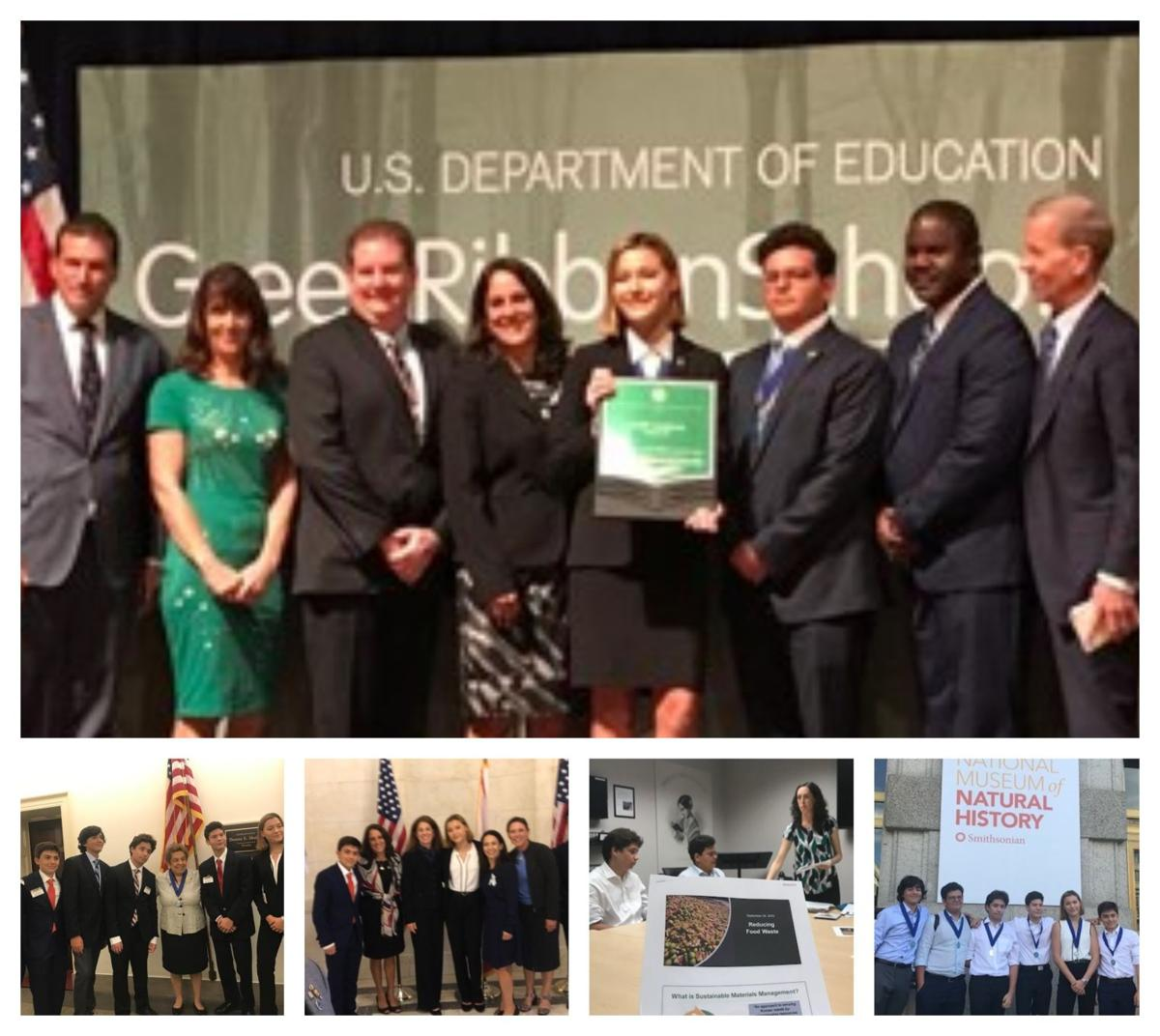 MAST Green Champions recognized on trip to Washington, DC