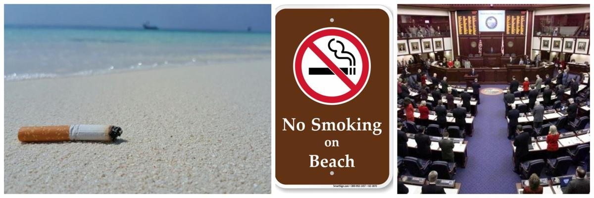 State Bill 670 would ban smoking on Florida beaches