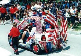 One of Federico Padovan's many award winning floats over the years.