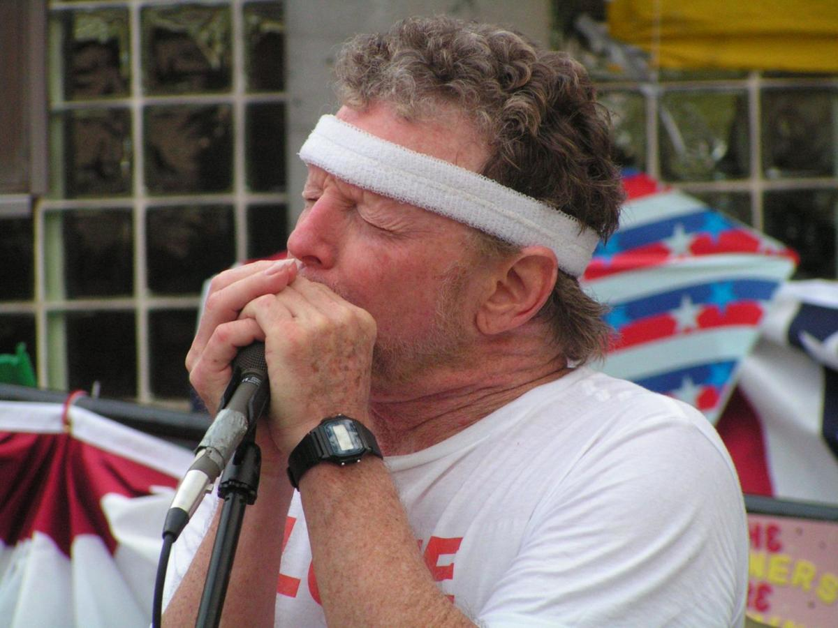 Musician and artist Louie Archambeau