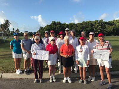 Golfing ladies enjoy Holiday Party