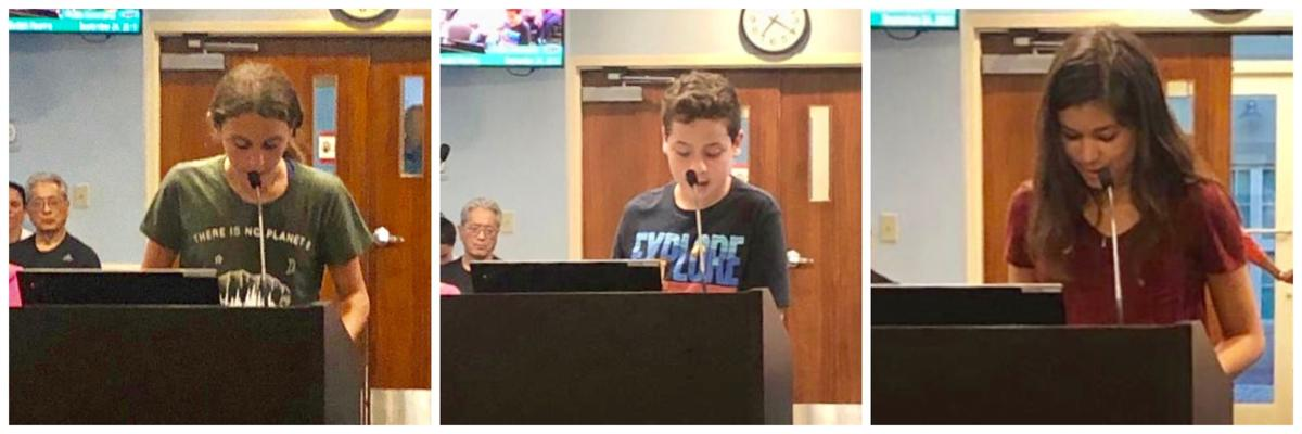 KB youth leadership in action - MAST students address the council