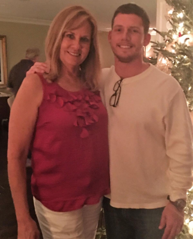 Kyle Dobbs and his Mom Cindy