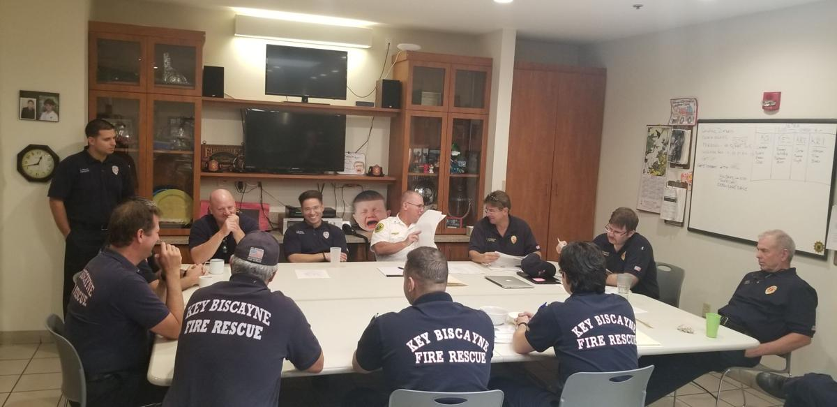 KB Fire Rescue operational briefing with Deputy Chief Haring.