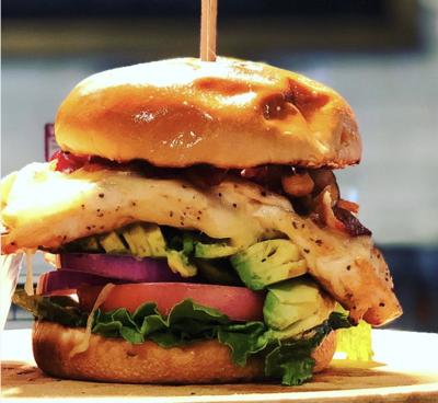 Golden Hog chicken sandwich