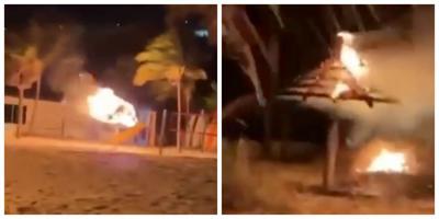 KB Beach Club Fire update