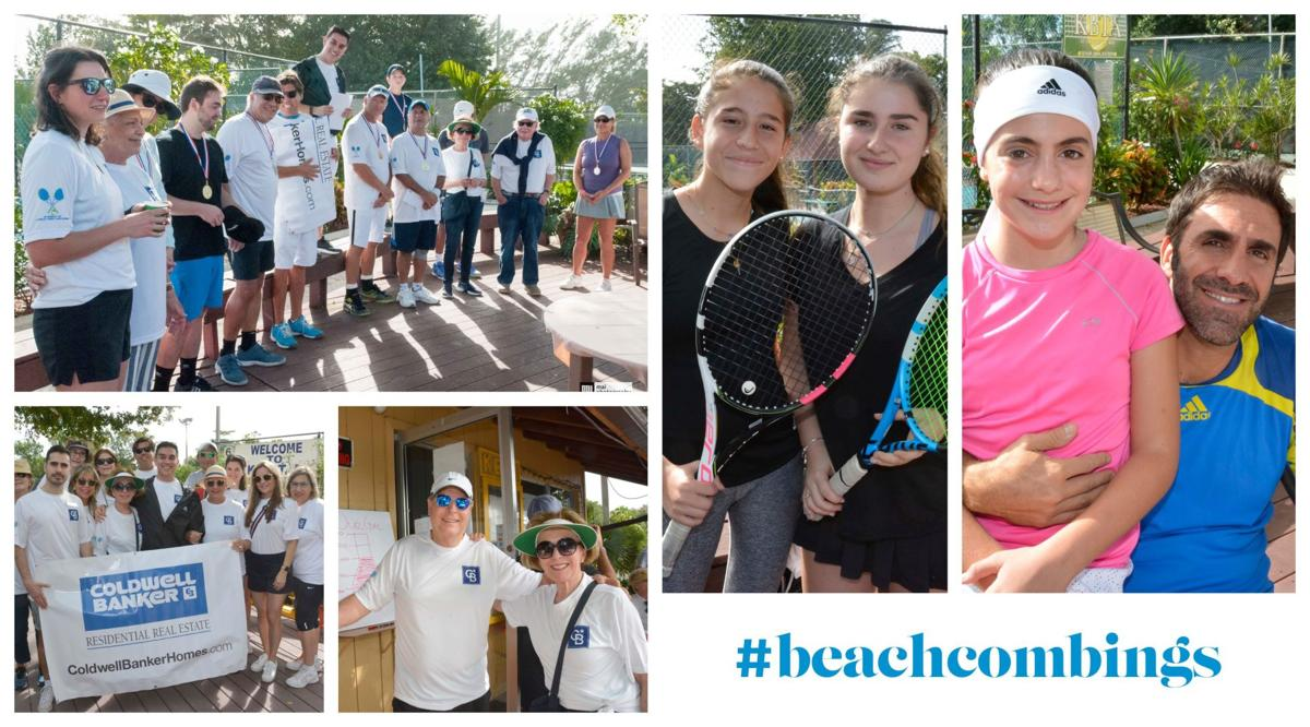 #beachcombings First annual A Tournament for a Cause Tennis event