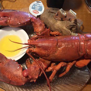 Steamed lobster, Tony Camejo's favorite