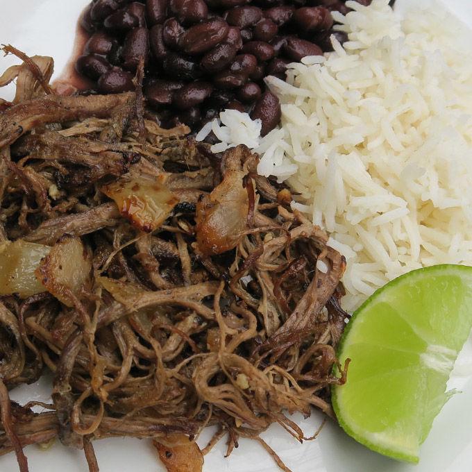 Mayor Davey's favorite dish, Cuban-vaca-frita
