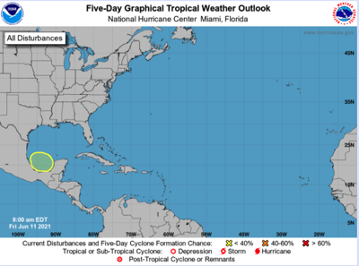 Tropical disturbance expected to form, move north in Gulf of Mexico