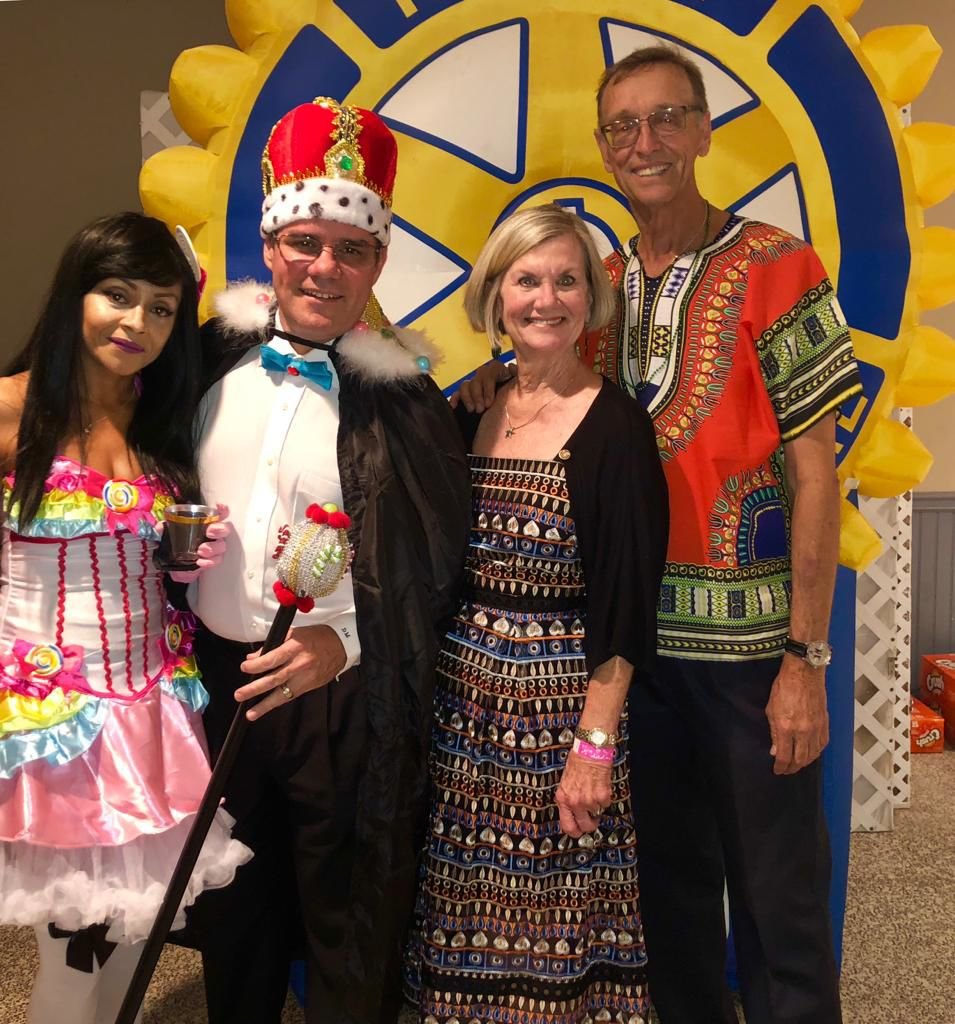 rotary of Key Biscayne Halloween Party