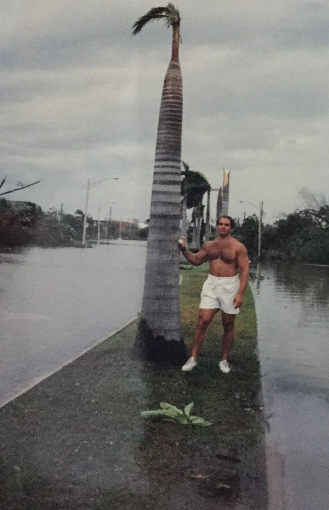 George Leser,hours after Hurricane Andrew hit Key Biscayne