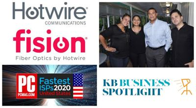 Hotwire Communications helps keep island residents connected