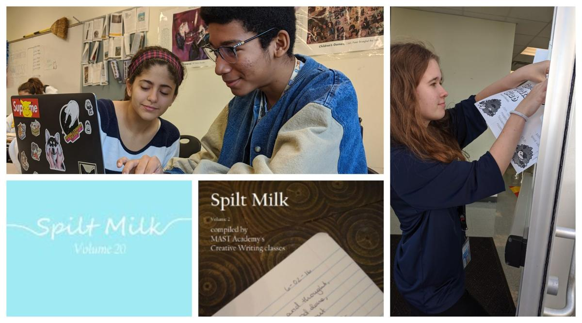 MAST's Spilt Milk wins literary award