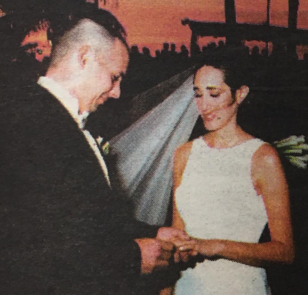 Monica Borrotto and Jorge Luzarranga wedding