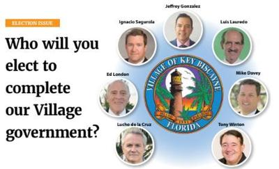 Who will be elected in Key Biscayne?
