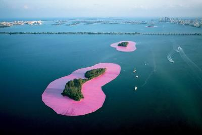 Surrounding Islands by Christo