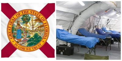 State of Florida deploying 3 field hospitals
