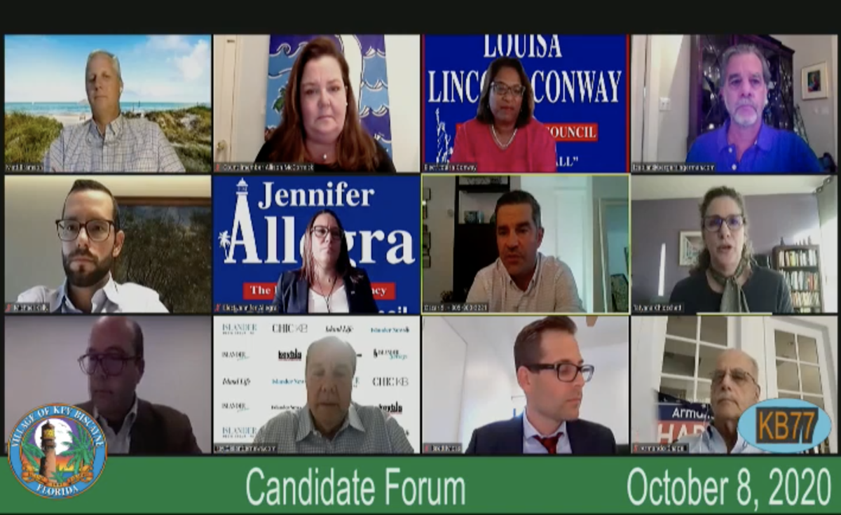 Oct 8 Key Biscayne Village Council Candidate Forum