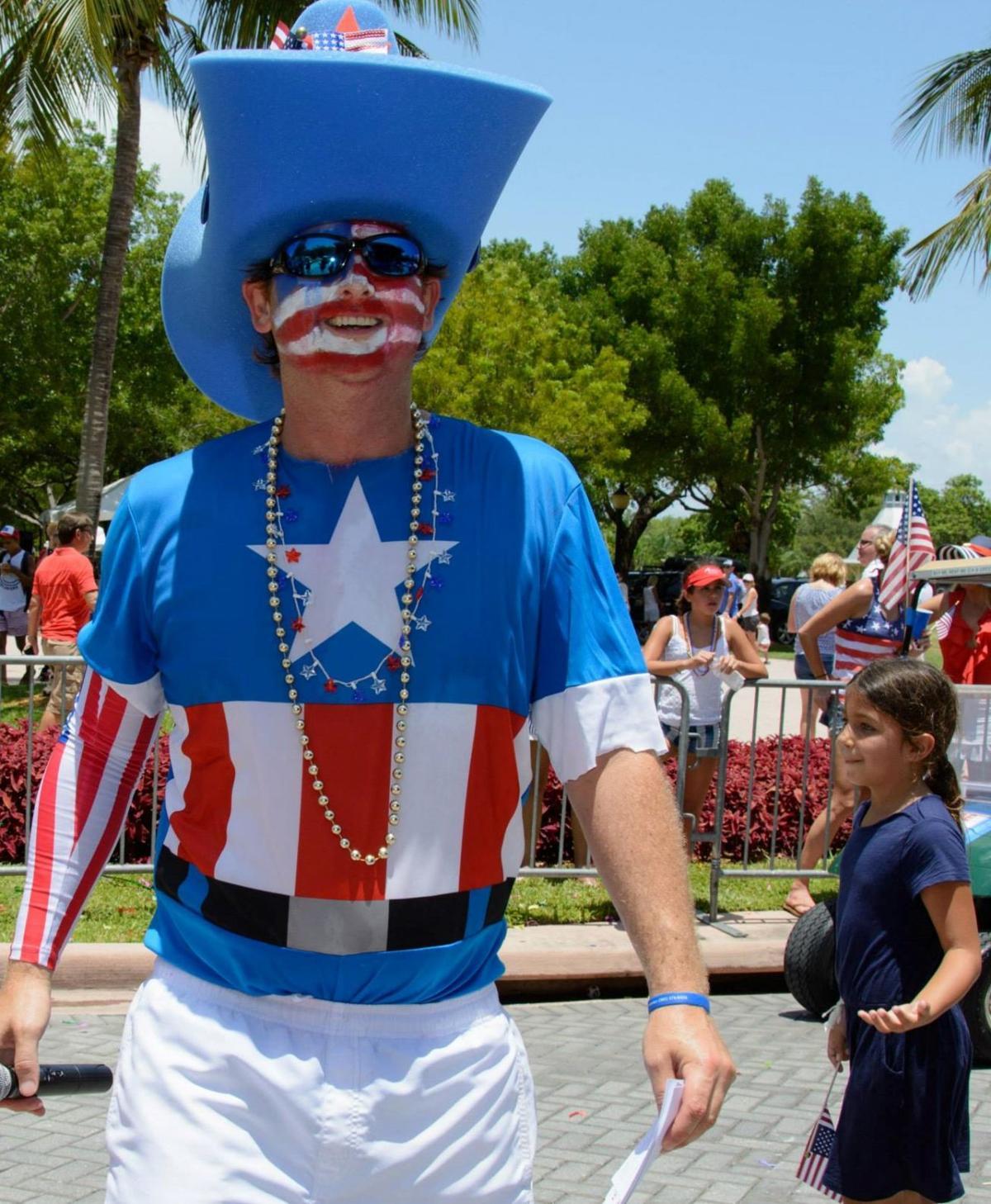 4th of July Parade MC Austin Tellam 2014