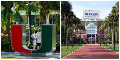 UM one of only two universities in Florida listed in the Top 50 national universities rankings. Princeton ranked as #1