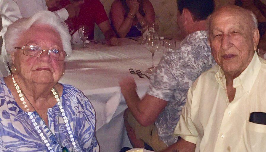The Blanco's celebrating their 66th wedding anniversary