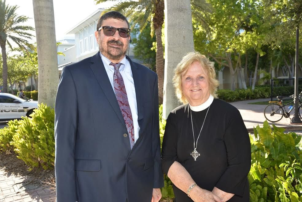 Rabbi Yoel Caroline and Reverend Susan