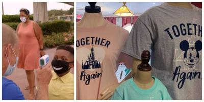Disney World reopens to 17% capacity, restrictions and yes, COVID-19 merchandise