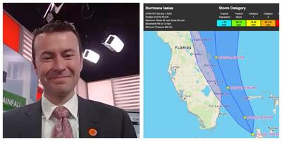 """Mid-Afternoon update from Accuweather's Geoff Cornish – South Florida on the """"dry"""" side of the storm"""