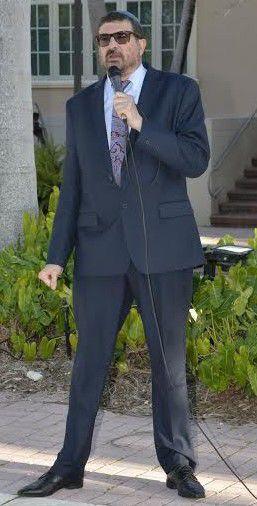 Chabad Key Biscayne outgoing Rabbi Joel Caroline