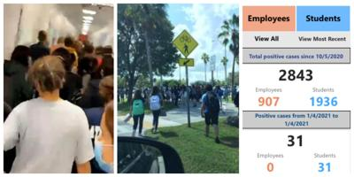 MDCPS and schools across Florida set to begin 2021 spring semester; 36,000+ teachers, kids and staff tested positive for COVID in the fall - 35 at MAST and 21 at K-8 Center