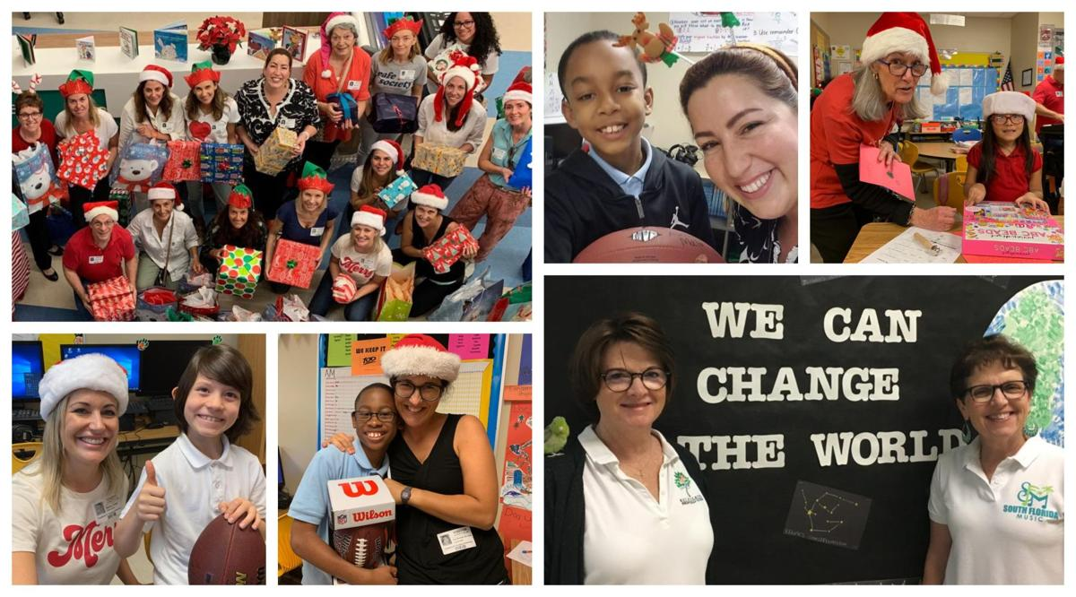 Key Biscayne students help spread some Joy during this past Holiday Season.