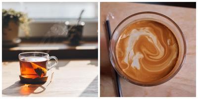 #tasteofkeybiscayne Tea versus Coffee.jpg