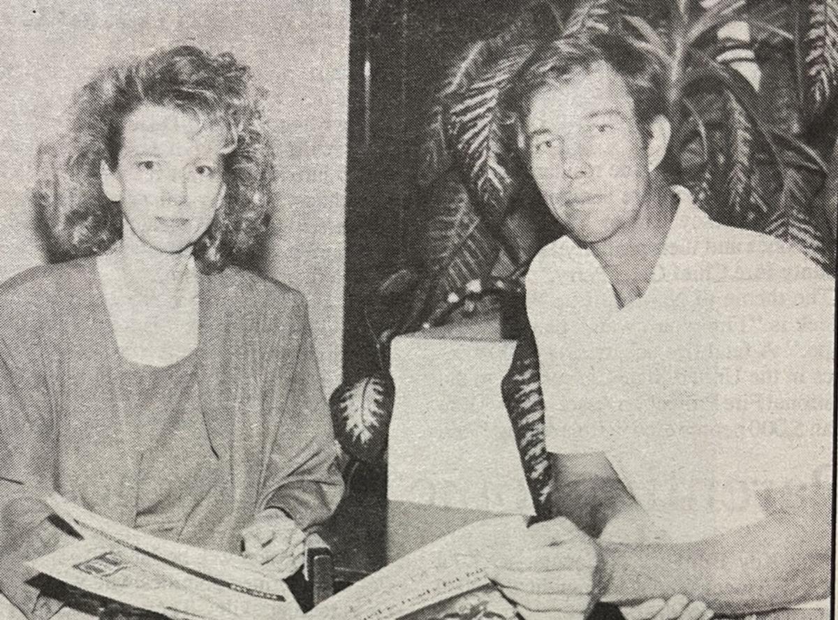 LaVene Guillen,with Ron Erbel