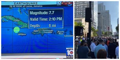 Earthquake felt in Key Biscayne and Brickell