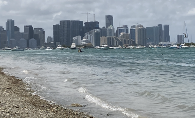 What does the summer portend for the waters in South Florida?