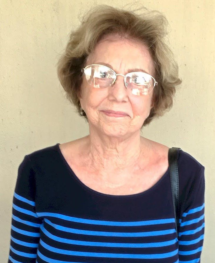 """Sonia Argila... """"We have to celebrate our freedom. All over the world the United States stands for freedom and economic opportunity. I came here sixty years ago from Cuba and living under an oppressive government is terrible."""""""
