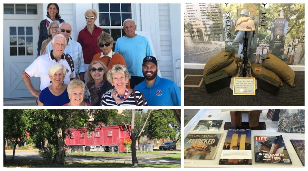 Key Biscayners visit Military Museum