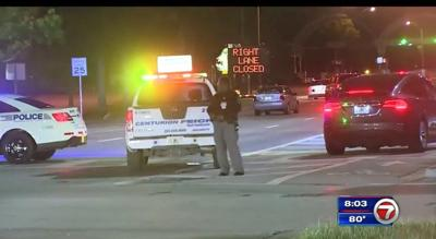 Rollover crash closes access to Key Biscayne Saturday evening