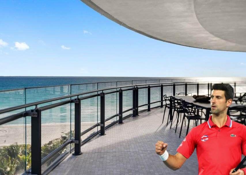 Tennis star Djokovic sells Miami Beach condo for $6 million