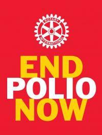 Rotary International fight to eradicate polio