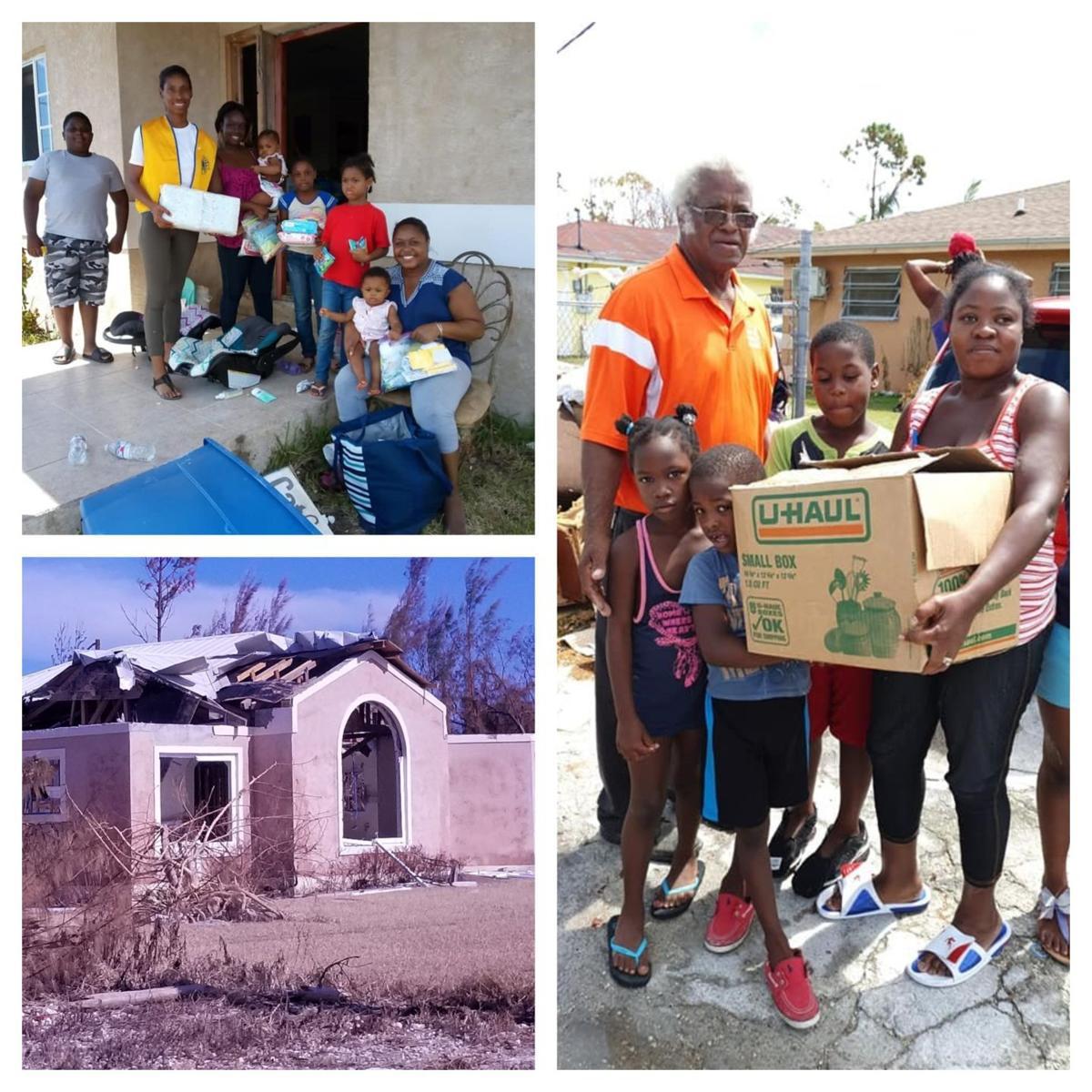 Lions Club aids Bahamas