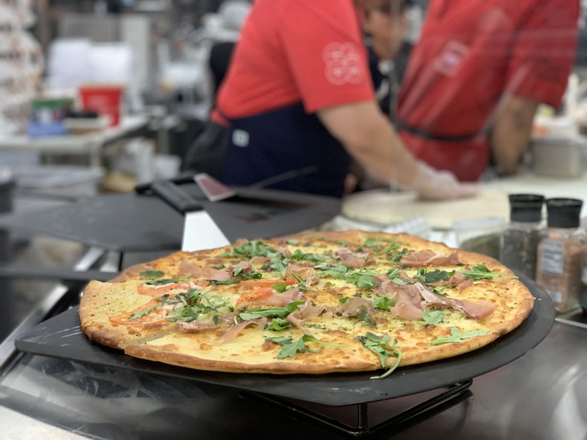 Fresh baked pizza is a new item at Winn Dixie