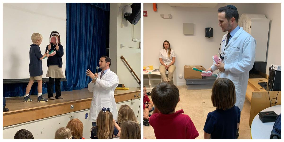 Dr Friedman DDS speaks to local schools