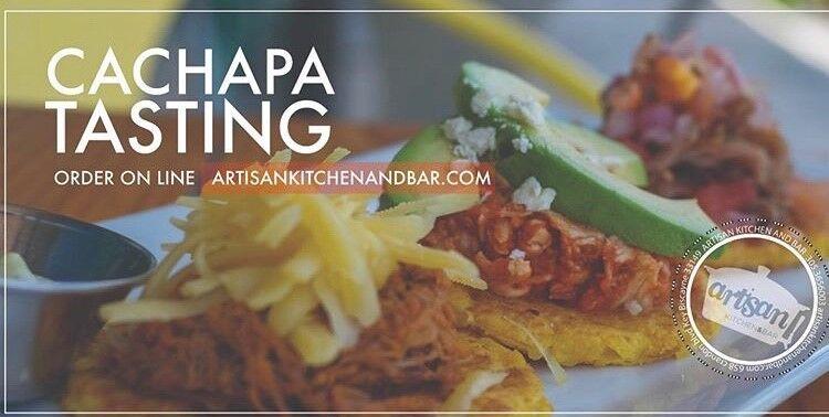 Artisan Cachapa tasting at home.jpg