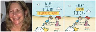 Harry and the Pelican and Author Amy Leaf