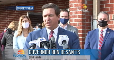 """DeSantis says websites for COVID vaccine registration might not be the best strategy for senior citizens. """"It's an absolutely valid concern."""""""