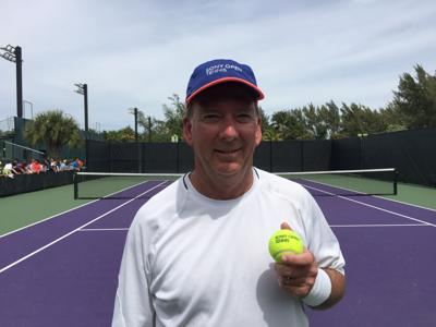 25cc509b6 Miami Open ball person proves that the love of the game has no age ...